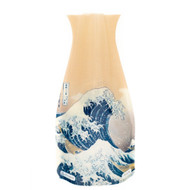 The Great Wave, Hokusai Expandable Vase