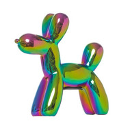 Iridescent Balloon Dog Sculpture / Bank