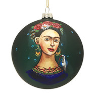 Green Frida Ornament