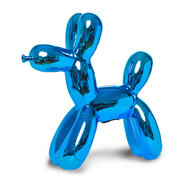 Royal Blue Balloon Dog Sculpture / Bank