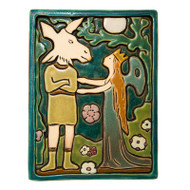 Midsummer Night's Dream Tile by Pewabic Pottery