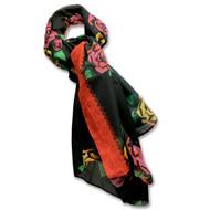 Kahlo Roses Shawl/Wrap