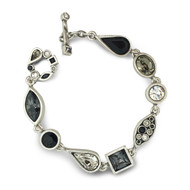 Patricia Locke Black & White Couture Bracelet