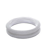 Silver Rolled Mesh Bangle