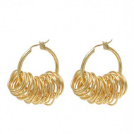 Hoop & Wire Rings Earrings