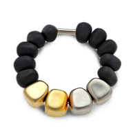 Full Resin w/ Pebble Stone Bracelet