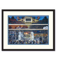 Diego Rivera Detroit Industry North Wall Framed Print