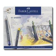 Premium Colored Pencil Tin- Set of 48