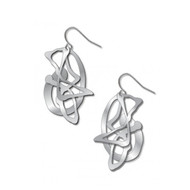 Pollock's Ghost Earrings