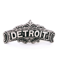 Detroit Pin by Modern Made Vintage