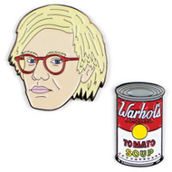 Andy Warhol Pins