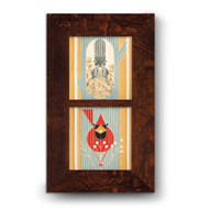 Motawi Tileworks October & Autumn Edibles Framed Set