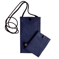 Hold the Phone Indigo Mesh Bag
