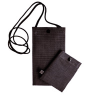 Hold the Phone Black Mesh Bag
