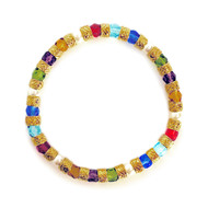 Linda Murano Glass Bracelet, Multi