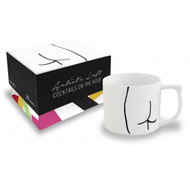 Abstract Derriere Mug