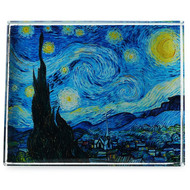 Starry Night, Van Gogh Crystal Deskpop Paperweight
