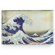 The Great Wave, Hokusai Crystal Deskpop Paperweight