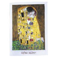 The Kiss, Klimt Tea Towel