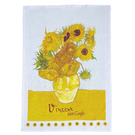 Sunflowers, Van Gogh Tea Towel