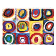 Color Study, Kandinsky Cleaning Cloth