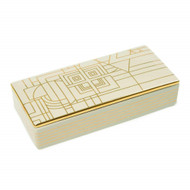 Frank Lloyd Wright Decorative Ceramic Box