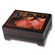Pink Ballerinas Musical Jewelry Box