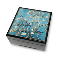 Almond Blossoms, Van Gogh Musical Jewelry Box