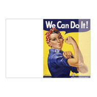 Rosie The Riveter Angeled Notepad