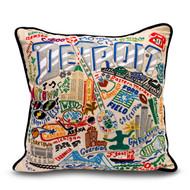 Detroit Landmarks Pillow