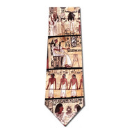 Egyptian Wall Paintings Necktie