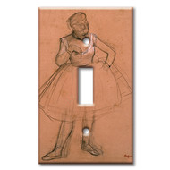 Switch Plate Single Degas Dancer