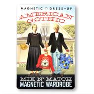 American Gothic Magnetic Wardrobe Dress-Up Set