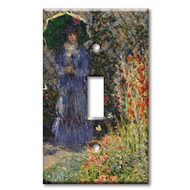 Switch Single Plate Monet Rounded Flower Bed (Corbeille de fleurs)
