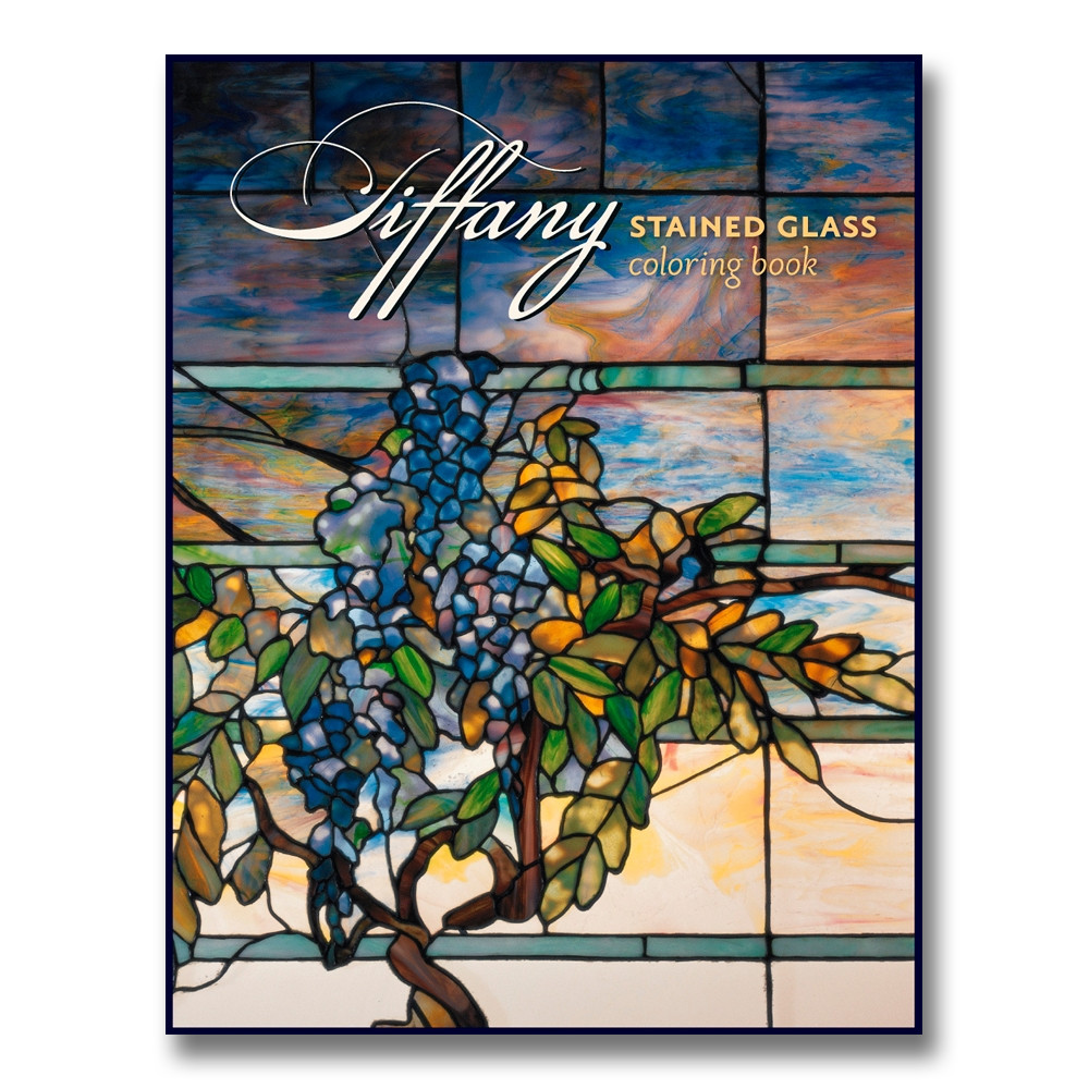 Tiffany Stained Glass Coloring Book - Detroit Institute of Arts ...