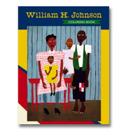 William H. Johnson Coloring Book