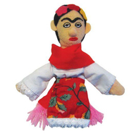 Frida Kahlo Finger Puppet Magnet