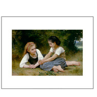 The Nut Gatherers, by Bouguereau,  Archival Print