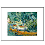 Bank of the Oise, by Vincent van Gogh, Archival Print