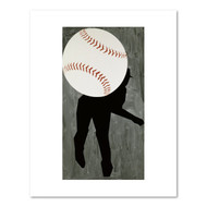 Hard Ball III, by Moskowitz, Archival Print