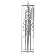 Frank Lloyd Wright Ornament Robie Art Glass Wrightsicle