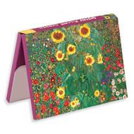 Gustav Klimt Garden Notecard Folio