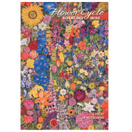 Flower Cycle Notecard Folio