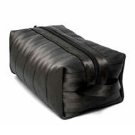 Harveys Seatbelt Dopp Kit Travel Bag Black