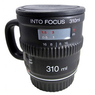 Into Focus Camera Lens Mug with Lid