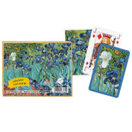 Van Gogh's Irises Playing Cards Double Deck