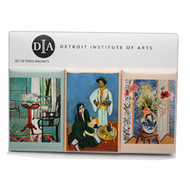 Henri Matisse Magnets: Set of Three