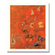 Redon Odilon Evocation of Butterflies Boxed Notecards