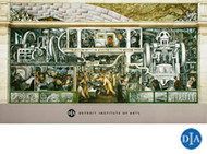 Diego Rivera Detroit Industry Murals South Wall Detail Poster