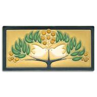 Motawi Tileworks Lovebirds Tile